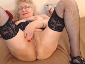 Russian granny anal