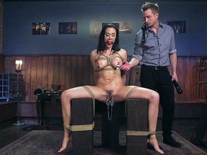Sex slave whipping