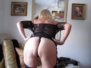 Milf sheer panties