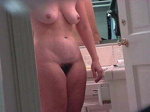 Mom showering