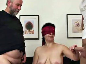 Granny and boy fuck