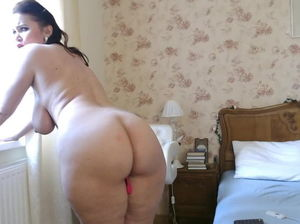 Mature women ass