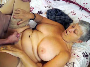 Voluptuous mature woman
