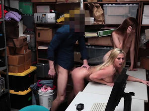 Milf caught masturbating